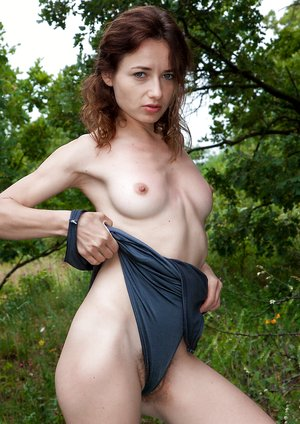 Shaya masturbates outdoors after a picnic
