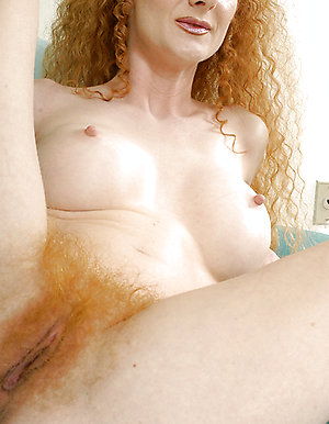 Hairy Redhead slut devours dick!